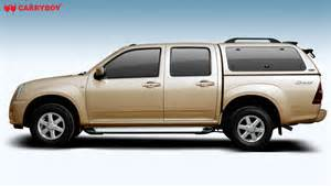 Isuzu Dmax With Canopy Isuzu D Max 2010 Carryboy New Zealand Fiberglass