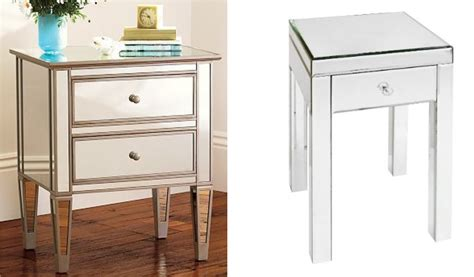 Affordable Mirrored Nightstand Affordable Mirrored Nightstand Interior Design