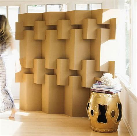 Cheap Cool Home Decor by 70 Cool Homemade Cardboard Craft Ideas Hative
