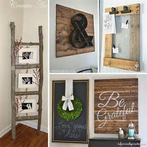 My Home Decor by 31 Rustic Diy Home Decor Projects Refresh Restyle