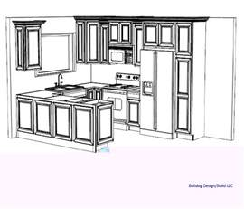 Free Kitchen Design Layout Bulldog Design Build Llc 3d Kitchen Design Layouts