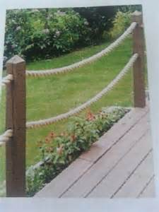 rope railing future cottage pinterest