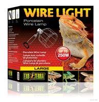 exo terra wire light small fixture