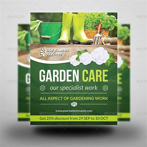 flyer templates gardening garden services flyer vol 2 by owpictures graphicriver