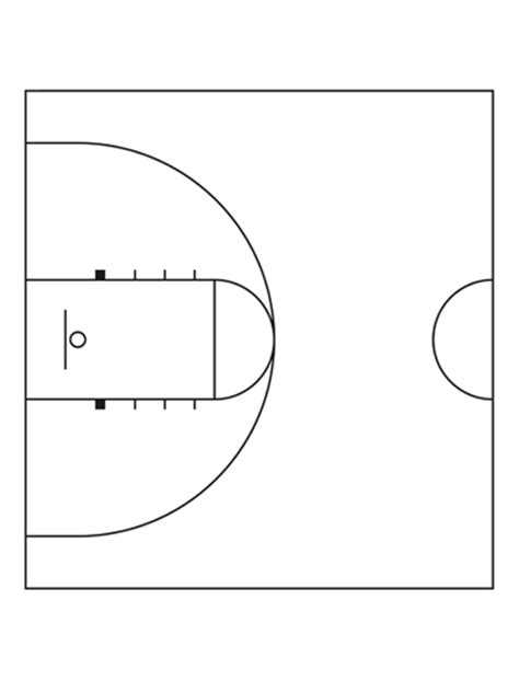 half court basketball template half court basketball new calendar template site
