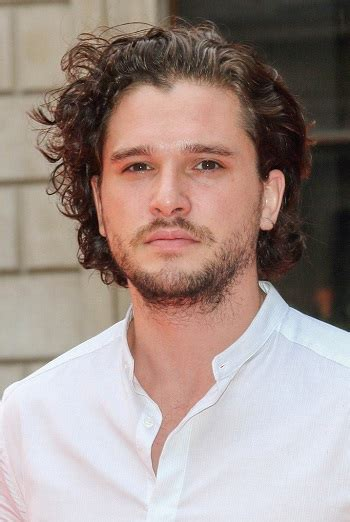 hair style kit hair and beard styles kit harington s medium curly