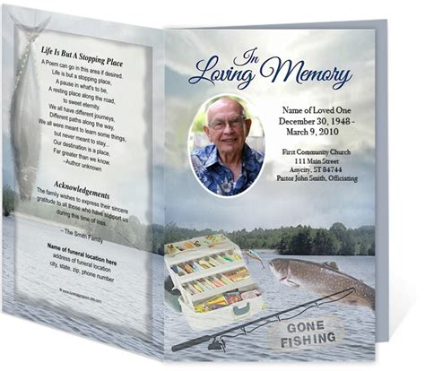 memorial template 21 best images about obituary on program
