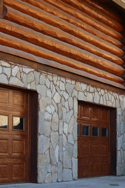 How To Stain A Metal Garage Door by No More White Metal Garage Doors With Two Cans Of