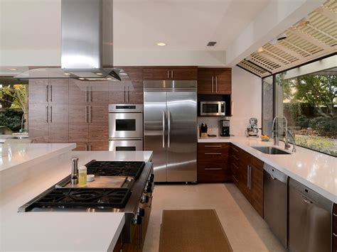 contemporary kitchens how to decorate a galley kitchen hgtv pictures ideas