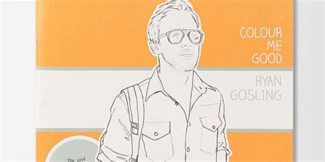 gosling coloring book gosling colouring book gentlewoman the weekend