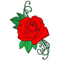 download rose tattoo free png photo images and clipart