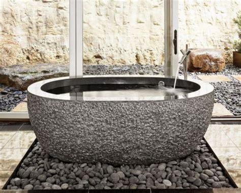 rock bathtub exotic bathtubs cava di pietra
