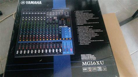Mixer Yamaha 16 Xu yamaha mg16xu image 1425775 audiofanzine