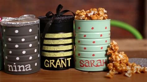 Handmade Personalized Gifts - easy handmade gifts for a diy personalized popcorn