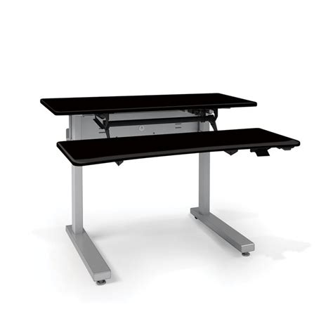 elevate adjusta 48 electric sit stand desk elevate ii adjusta stand up desk review