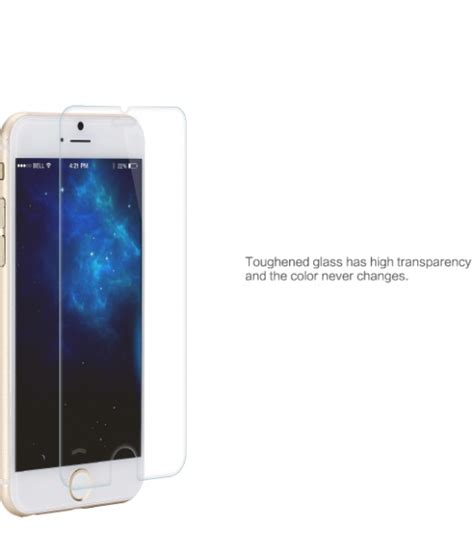 Iphone 6 Screen Protector Tempered Glass Belakang Cermin iphone 6 plus premium tempered glass screen protector sturdy