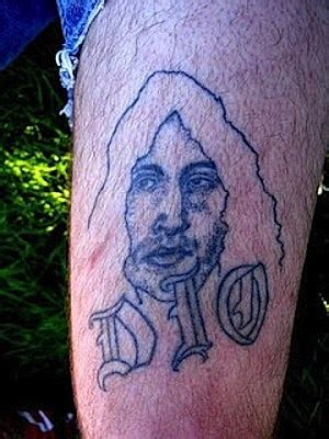 ronnie james dio tattoo disastrous ronnie dio worst rock tattoos