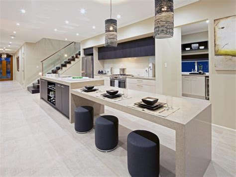 island with table attached kitchen island with table attached decoration effect and