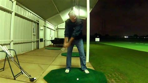 dalton swing one set up ball position swing all clubs slow motion