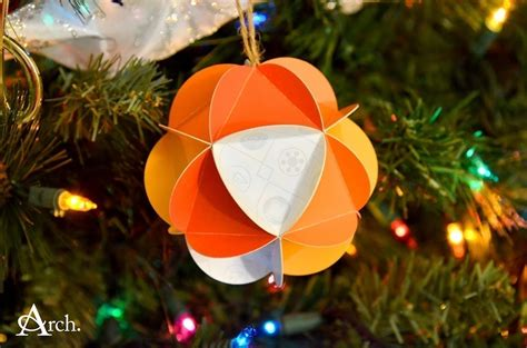 christmas card paper ornament ball 183 how to make a bauble