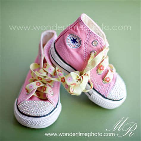 Converse Pink Prewalker Shoes pink converse crib prewalker shoebaby bling converse