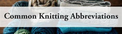 knitting bo definition knitting terms explained allfreeknitting
