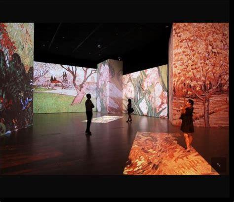 biography features display van gogh alive art appreciation through digital immersion