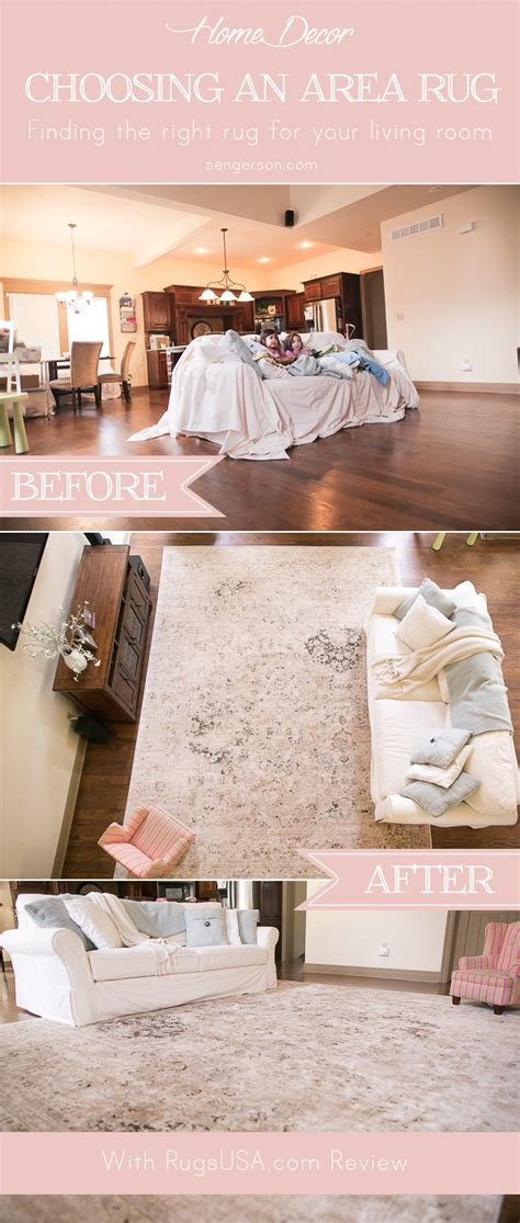 How To Choose A Rug For A Room by How To Choose The Right Size Area Rug For Your Living Room