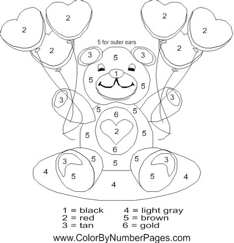 valentine math coloring page valentine color by number printables new calendar