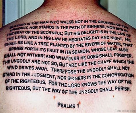 bible verse tattoos with designs 52 religious bible verses tattoos designs on back