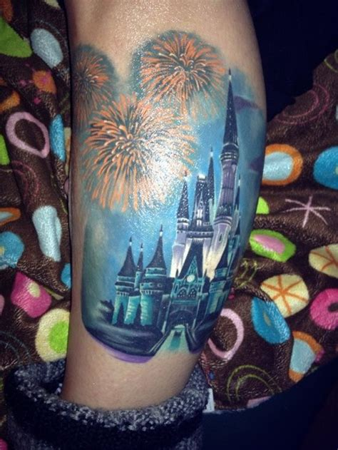 disney castle tattoo 55 disney tattoos for and amazing ideas