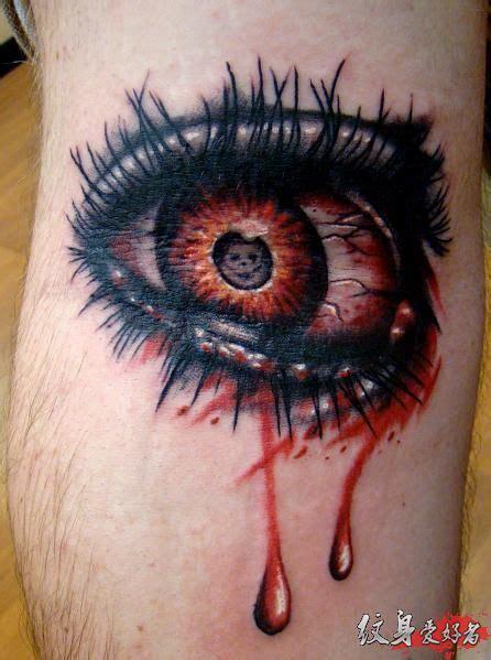 各种眼睛纹身图片大全 另类纹身图案大全 纹身图库