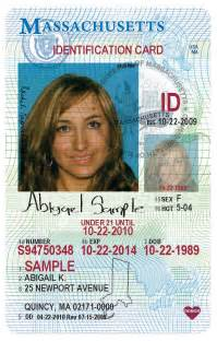 How To Make Identification Card - rmv new service younger teen ids massdot blog