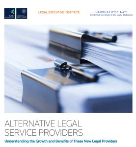 Executive Mba Georgetown Cost by Alternative Service Providers General Counsel