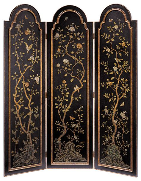 arched top folding screen traditional screens and room - Arched Room Dividers