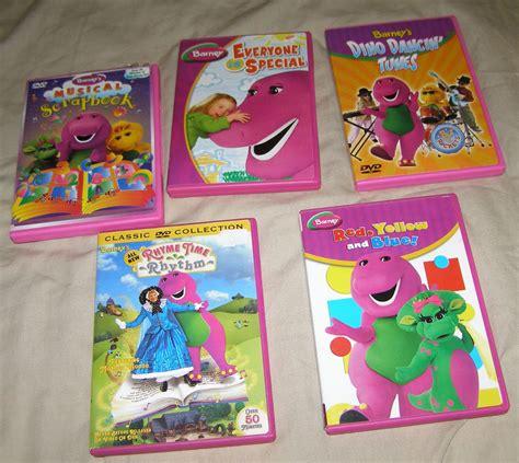 barney and friends dvd x6 barney the purple dinosaur dvd