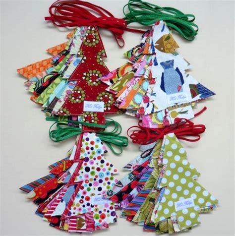 fabric christmas tree christmas pinterest