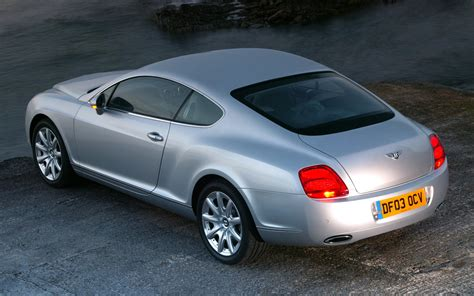 bentley rear 2005 bentley continental gt rear side view photo 5