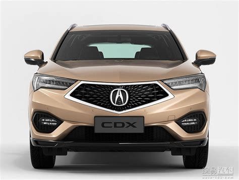 acura who makes new acura cdx compact suv makes official debut at beijing