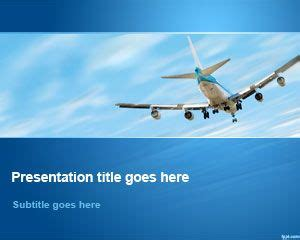 Airline Powerpoint Templates by Free Aviation Powerpoint Template Free Powerpoint Templates