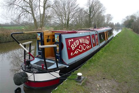 canal boat gangplank narrowboat or barge canal boats explained boats