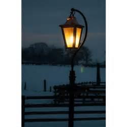 large swan neck lamp post