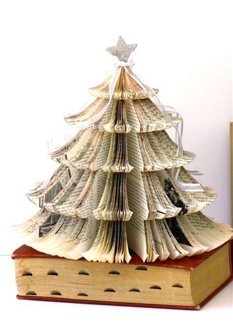 193 rbol de navidad oh este 225 rbol se hace de un viejo libro