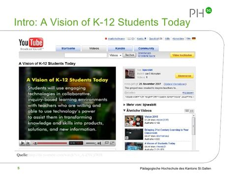 a vision of students today youtube a vision of students today youtube integrating web 2 0
