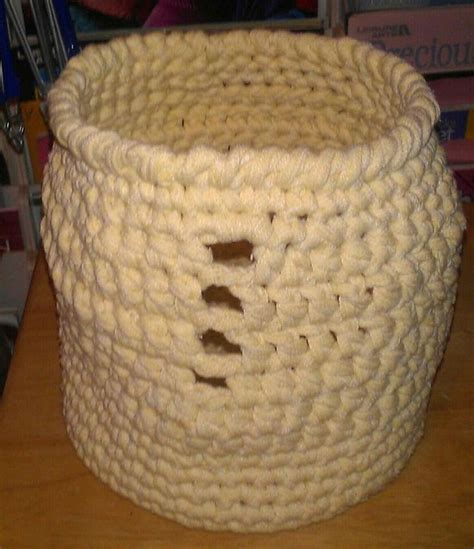 knitted yarn bowl pattern unbreakable yarn bowl part 1 crochet and knitted baskets