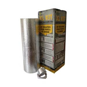 kit isolation porte de garage 6m 178 castorama