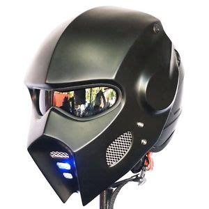 New Helmet Special Black Size M Nyaman 2017 matt black iron mask motorcycle helmet open helmet l custom new ebay
