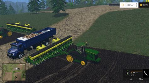 Mod Planter by Truck Mercedes 1513 For Planter And Sprayers Supply