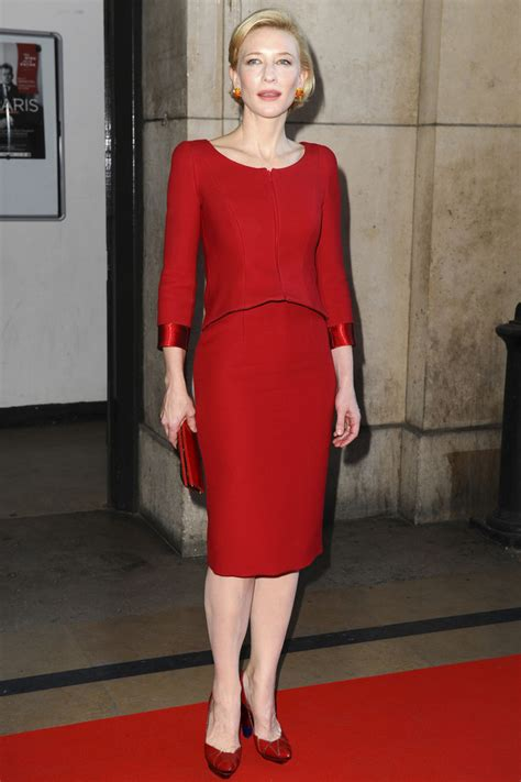 And Cate Blanchett At The Armani Fashion Show by Cate Blanchett In Arrivals At The Giorgio Armani Prive