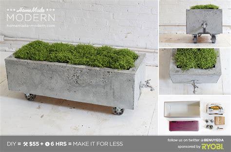 pflanztopf beton modern ep16 concrete planter